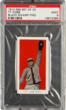 This Ty Cobb is from the treasure trove of cards recently found in an Ohio attic and will be exhibited by Heritage Auctions for the first time on the West Coast at the Long Beach, California Coin, Stamp &amp; Sports Collectibles Expo, Sept. 6 - 8, 2012.  (Photo courtesy of Heritage Auctions.)
